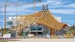 Trung tâm Pompidou - Metz - Pháp. Thiết kế: Shigeru Ban và Jean de Gastines