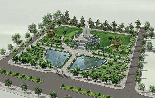 Đài tưởng niệm các Anh hùng liệt sĩ Bắc Ninh, một hình tượng kiến trúc độc đáo