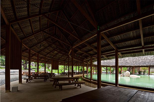 Iresort - Khu nghỉ dưỡng Suối Khoáng nóng - Công trình kiến trúc Xanh 2012 - KTS Nguyễn Hòa Hiệp