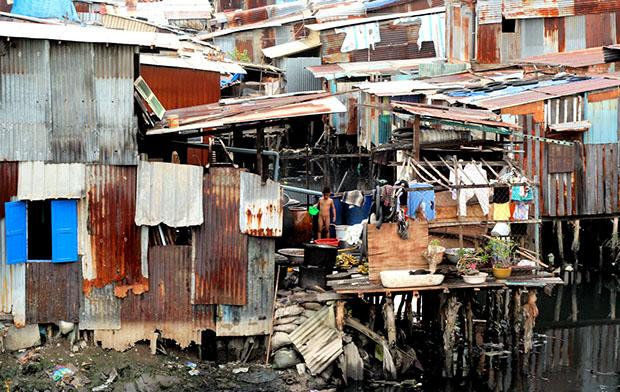Một khu ổ chuột ở TP Hồ Chí MInh