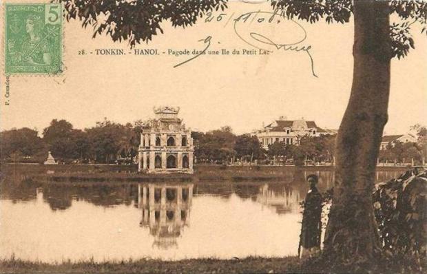Không gian kiến trúc cảnh quan Hồ hoàn Kiếm –Biểu tượng Văn hóa Lịch sử nhận diện đô thị Hà Nội