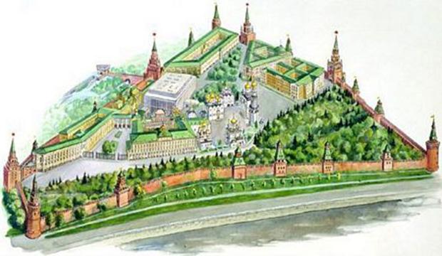 Điện Kremli, Nga