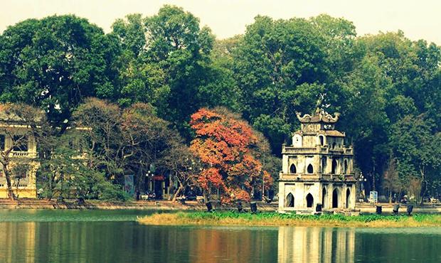 Hồ Gươm dấu ấn Văn hoá và Kiến trúc