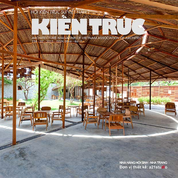 Bìa Tạp chí kiến trúc số 01/2015