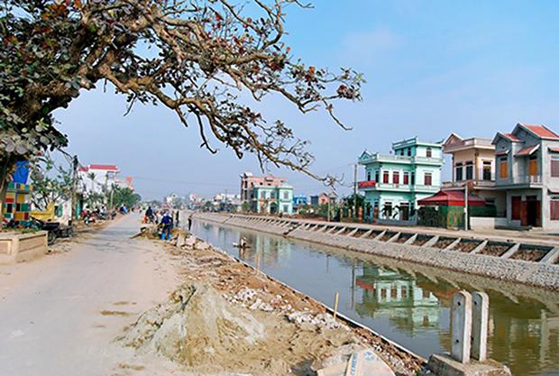 Nông thôn Giao Hà, Giao Thủy, Nam Định ngày thêm đổi mới
