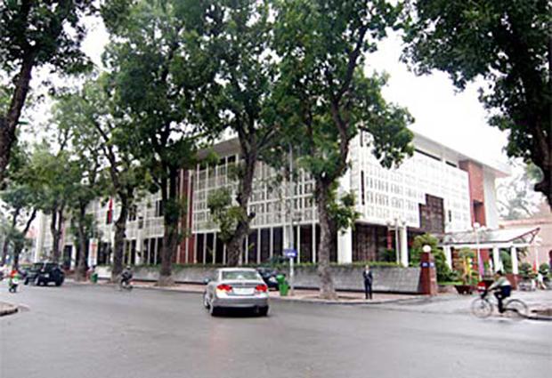 Trung tâm Hội nghị Quốc tế – KTS Nguyễn Thúc Hoàng và Đặng Kim Khôi