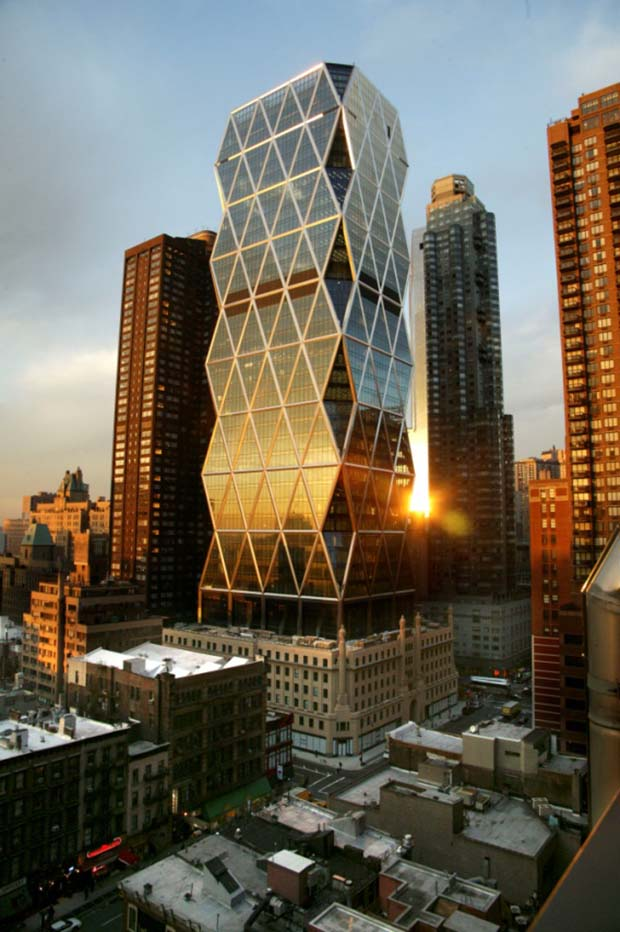 LEED certified Hearst Tower