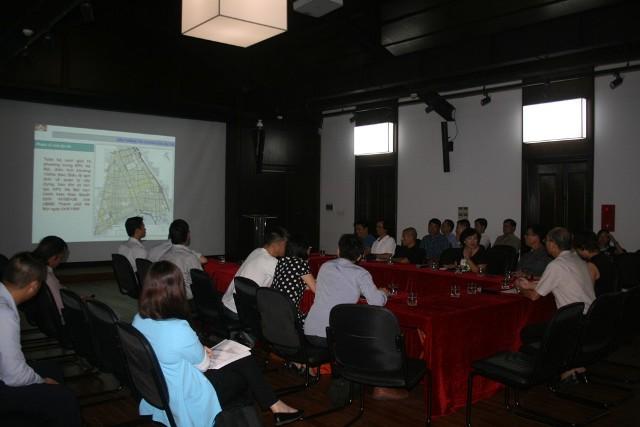 Hình ảnh buổi Toạ đàm House Vision 07/2015: Thảo luận Nhóm nghiên cứu giải pháp định hướng công tác bảo tồn, phát triển nhà ở trong Khu phố cổ Hà Nội đến năm 2030, tầm nhìn 2050