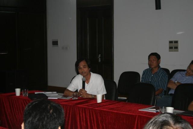 PGS.TS.KTS. Doãn Minh Khôi (Viện trưởng Viện Quy hoạch và Kiến trúc -UAI)