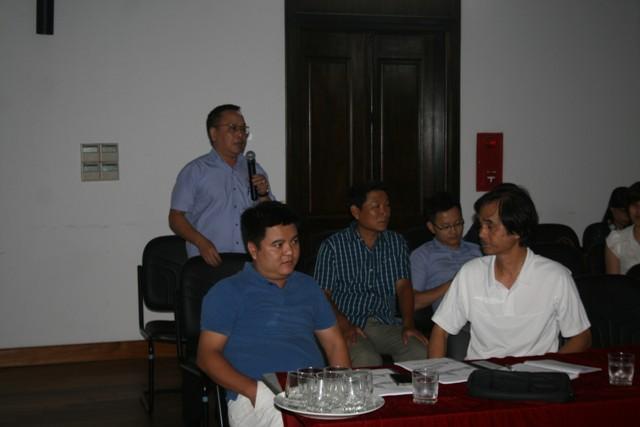 ông Trần Hoàng Hải – Đội phó đội Thanh tra Xây dựng quận Hoàn Kiếm