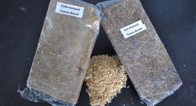 Ván dăm thân thiện môi trường làm từ trấu gạo