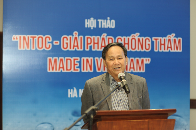 "Hội thảo ""Intoc – Giải pháp chống thấm Made in Việt Nam"""