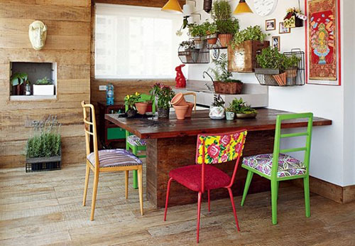 Cách bố trí cây xanh trong phòng ăn hợp phong thủy