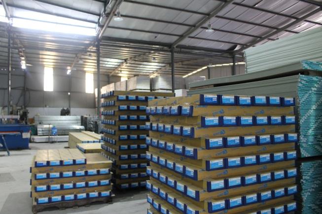 Zinca Việt Nam:Công nghệ sản xuất Trần và vách ngăn hiện đại