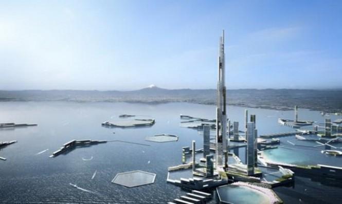 Thành phố sinh thái Next Tokyo chống nước biển dâng như thế nào?