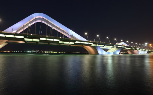 Cây cầu Sheikh Zayed Bridge, Abu Dhabi