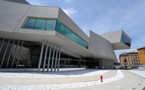 Viện bảo tàng Quốc gia MAXXI Thế kỷ 21, Rome