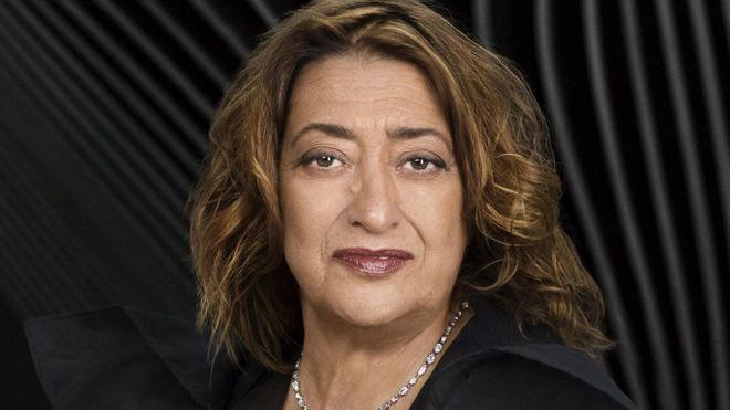 Chân dung nữ KTS Dame Zaha Hadid