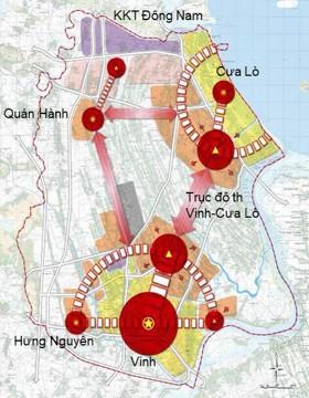Điều chỉnh quy hoạch chung thành phố Vinh, tỉnh Nghệ Anđến năm 2030, tầm nhìn 2050