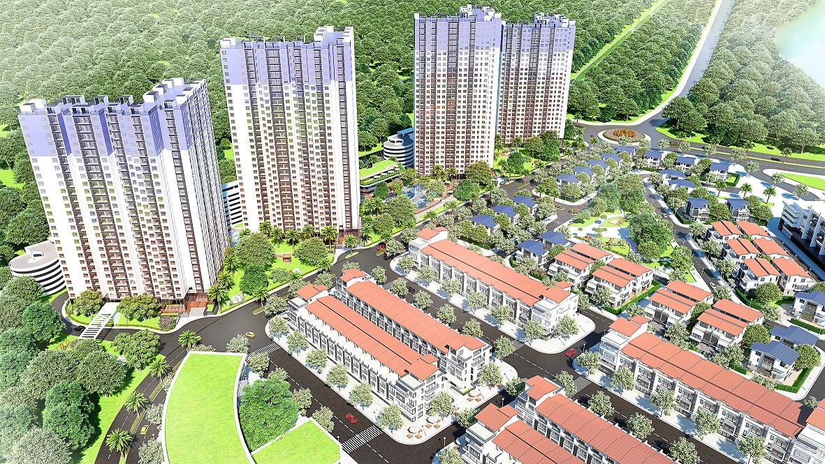 Ecopark ra mắt căn hộ hiện đại West Bay Sky Residences tại phân ...