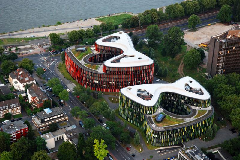 Đồ án văn phòng Oval ở Köln