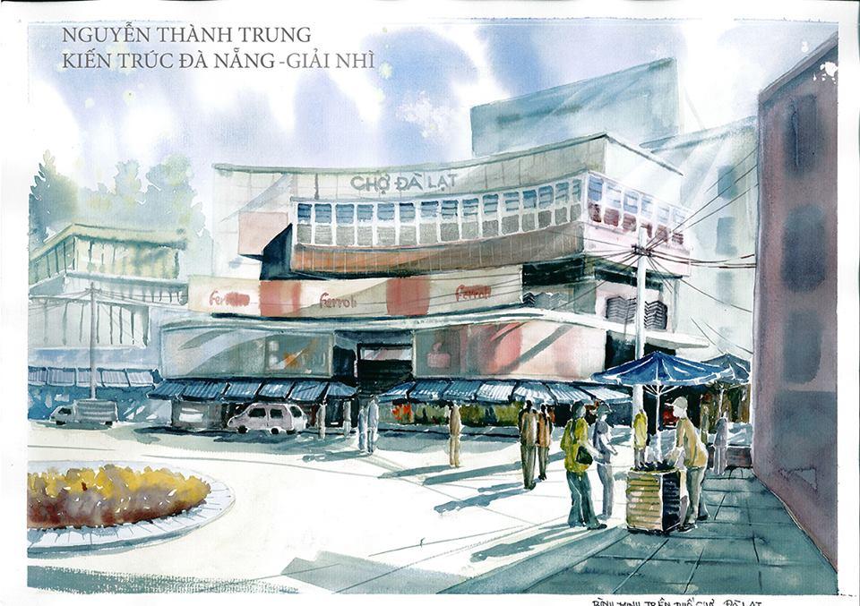 Giải Nhì: Nguyễn Thành Chung (ĐH Kiến trúc Đà Nẵng)