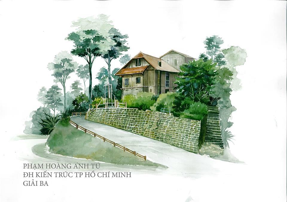 Giải Ba: Phạm Hoàng Anh Tú (ĐH Kiến trúc TPHCM)