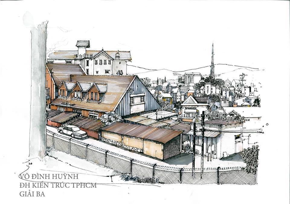 Giải Ba: Võ Đình Huỳnh (ĐH Kiến trúc TPHCM)