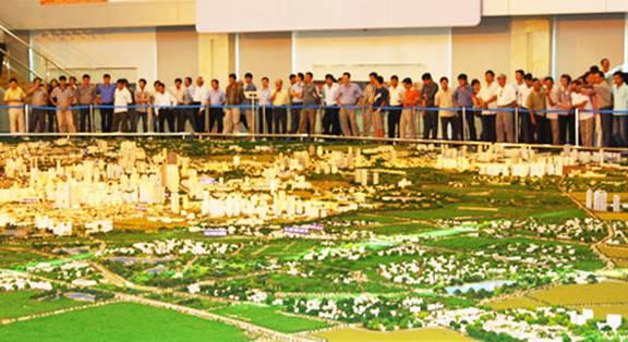 Phân khu đô thị Phú Xuyên (khu 1) có vai trò là một cực tăng trưởng của Vùng cửa ngõ phía Nam Thủ đô.