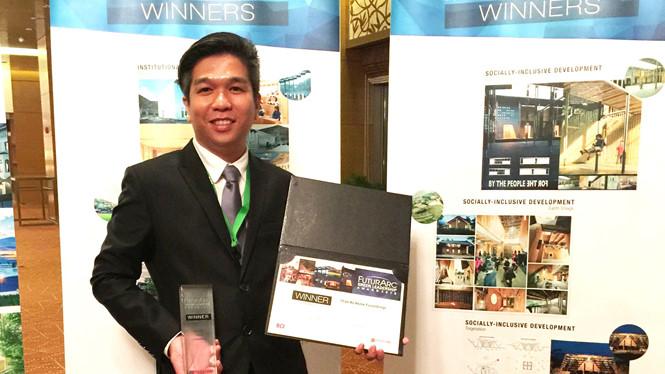 Chàng kiến trúc sư 8X rinh giải kiến trúc xanh châu Á