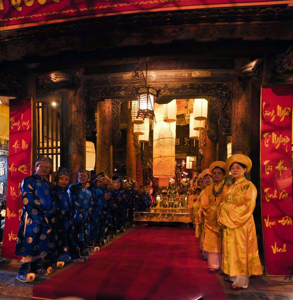 Lễ hội Đình Kim Ngân (ảnh: KTS Nguyễn Phú Đức)
