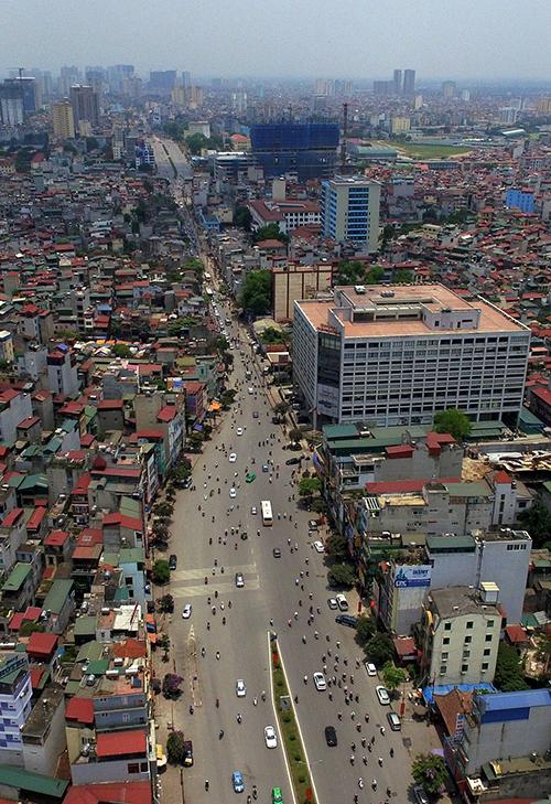 'Đường cong mềm mại' bốn năm làm được 700 m ở Hà Nội