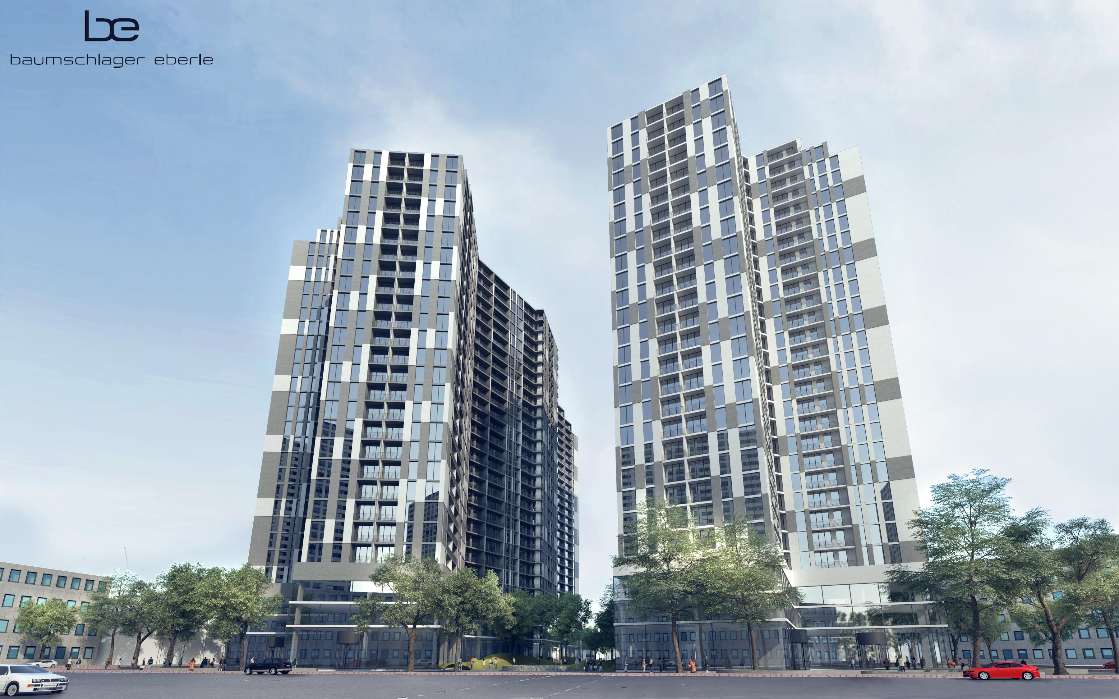 Tổ hợp chung cư ISG (Imperia Sky Garden) cao 27 tầng, 222.230 m2 sàn