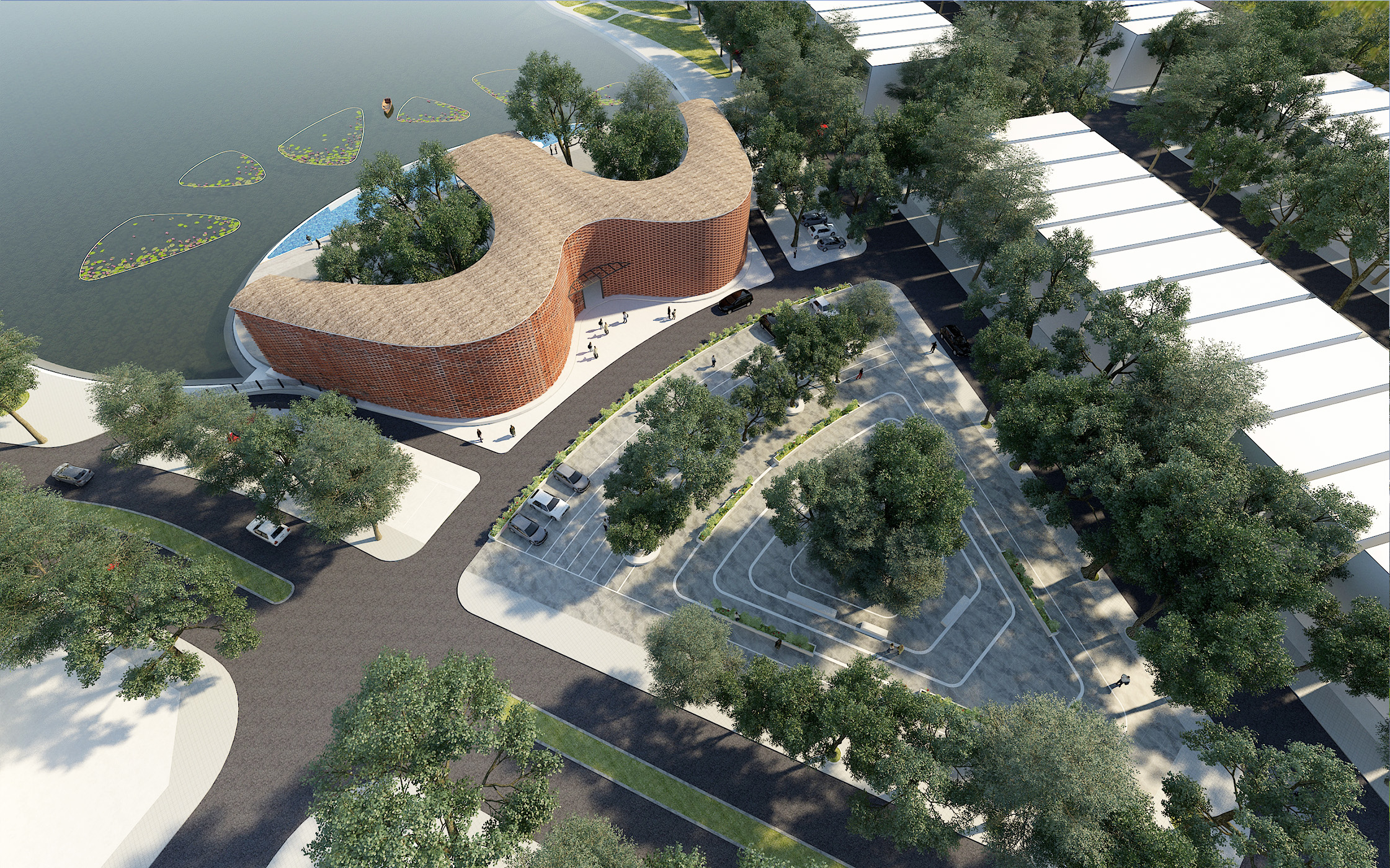 Nhà Clubhouse của khu đô thị Bách Việt Lake Garden – tp. Bắc Giang