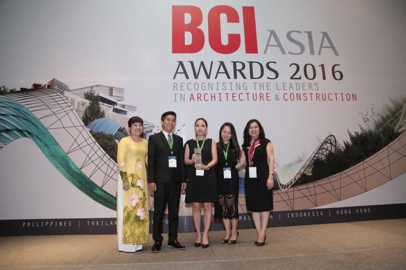 mw archstudio nhận giải tại Lễ trao giải thưởng FuturArc Green Leadership 2016