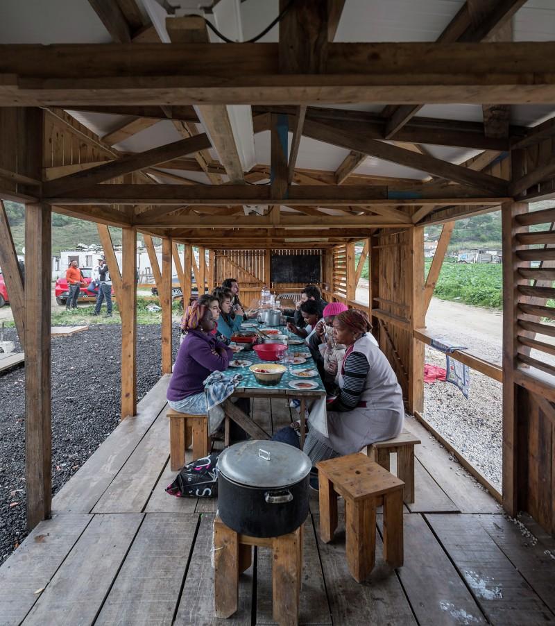 Nhà bếp cộng đồng tại Terras da Costa