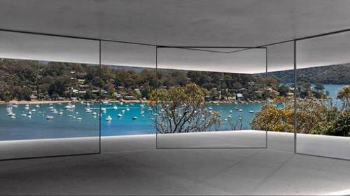 Cửa kính thiết kế tự di động mở rộng không gian phòng