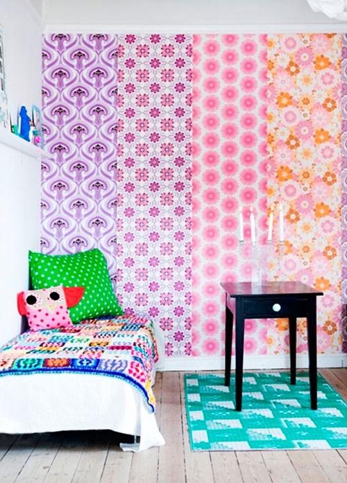 Phong cách thiết kế này thích hợp với những không gian sáng tạo và giải trí như phòng trẻ em.