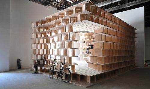 Tiềm năng của vật liệu gỗ trong việc tạo ra những không gian mới