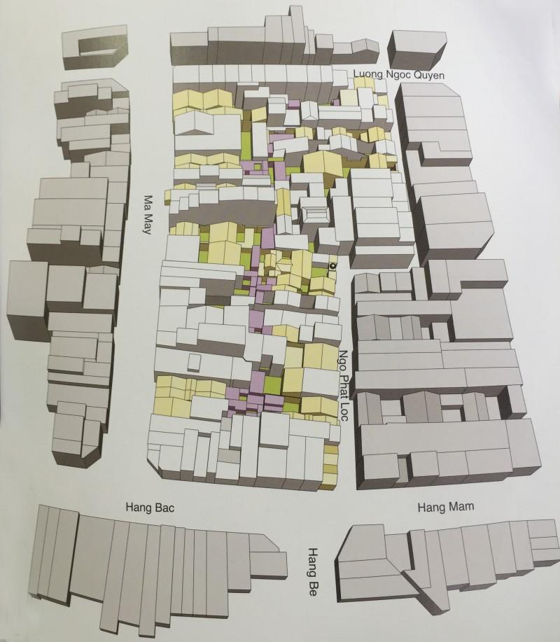Khu vực cần được bảo tồn trong Khu phố cổ
