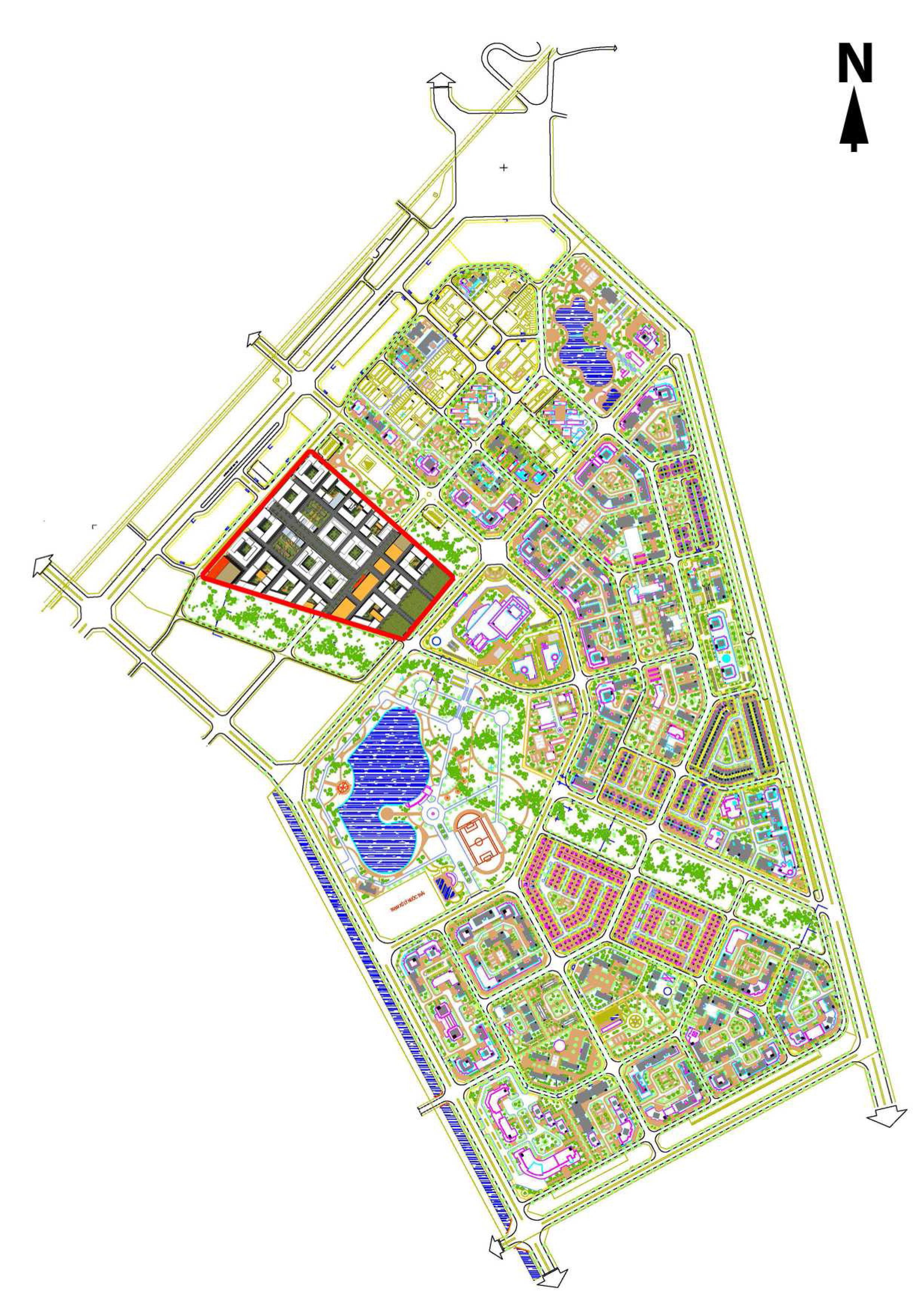Quy hoạch chi tiết Khu đô thị Việt Hưng