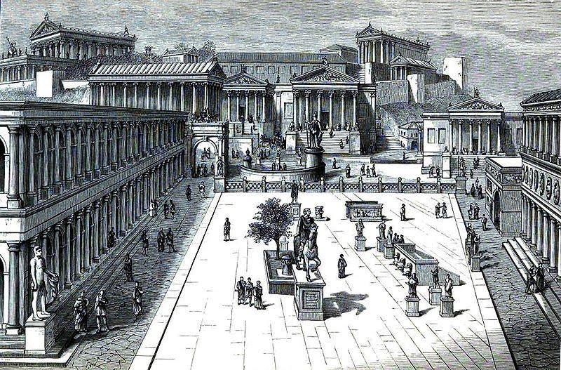 Forum trong đô thị La Mã cổ đại