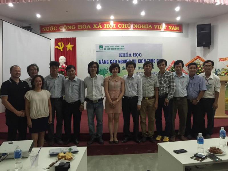 Ban chủ nhiệm CLB KTS Trẻ Ninh Thuận