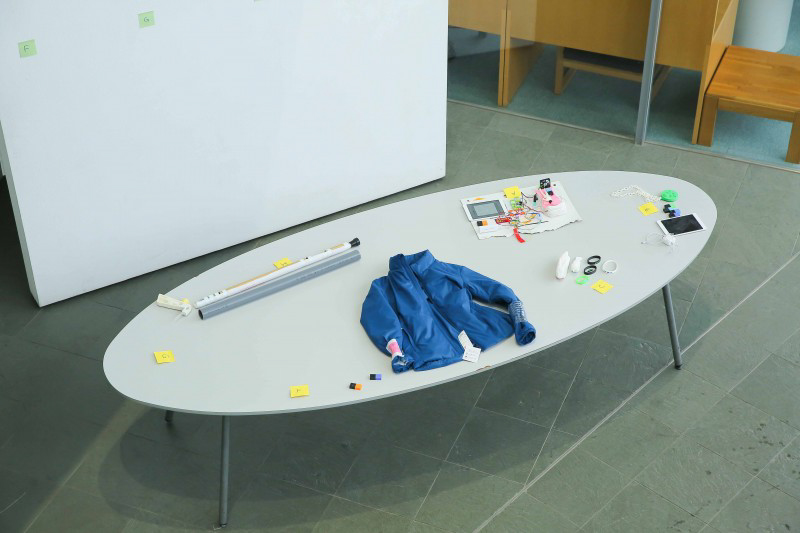 Mô hình sản phẩm của các nhóm tại Hội nghị tổng kết