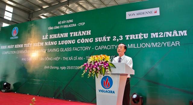 UV BCH TƯ Đảng, Bộ trưởng Bộ xây dựng Phạm Hồng Hà phát biểu chỉ đạo tại buổi lễ