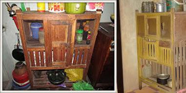 Hình 1: Chạn bếp phổ biến trong các gia đình Việt thời bao cấp