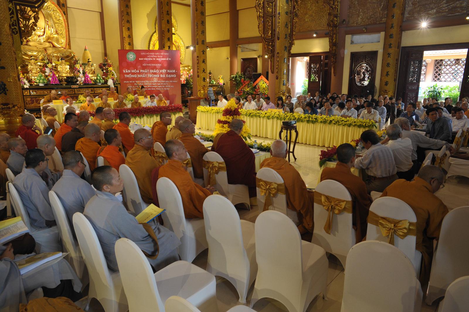 Hội thảo về Kiến trúc Phật giáo Việt Nam