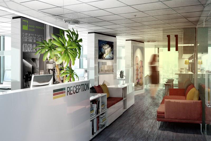 Văn phòng của một công ty Kiến trúc nước ngoài tại Hà Nội