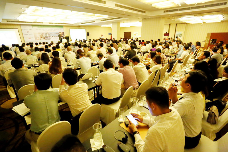 Hội thảo đã thu hút nhiều chuyên gia, doanh nghiệp có liên quan đến tham dự
