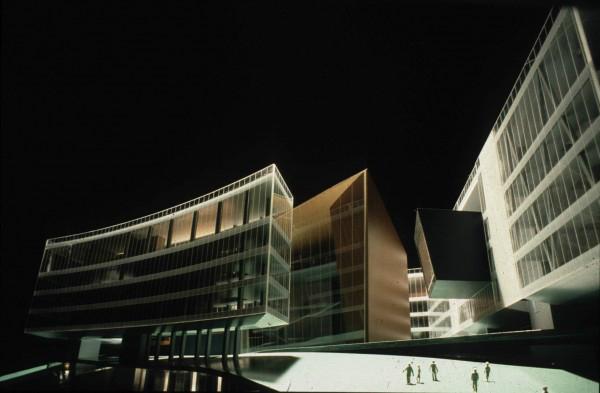 Bản thiết kế nhà hát Opera vịnh Cardiff